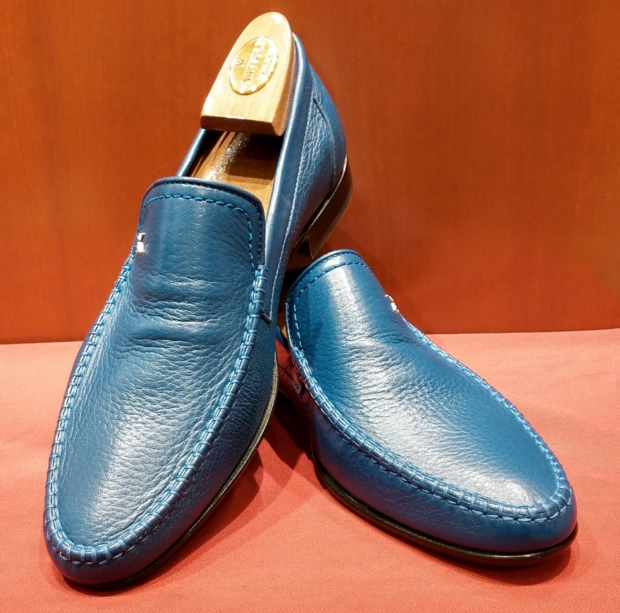 Loafer Model 624 Lagoon Blue