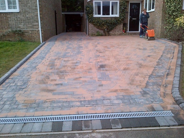 New driveways in Lightwater, Surrey