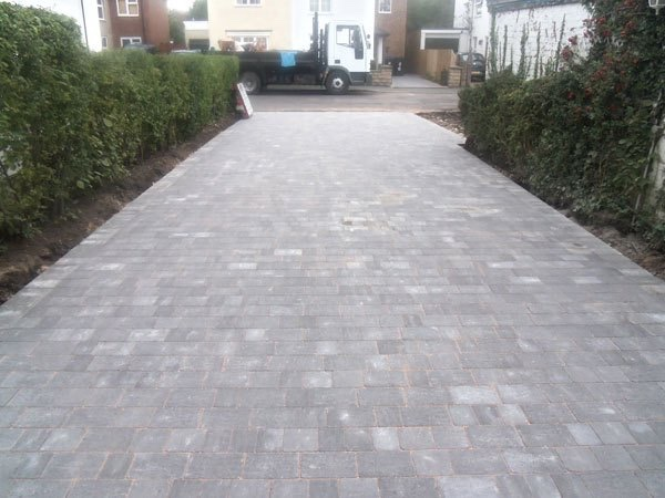 Block Paving Surrey Byfleet