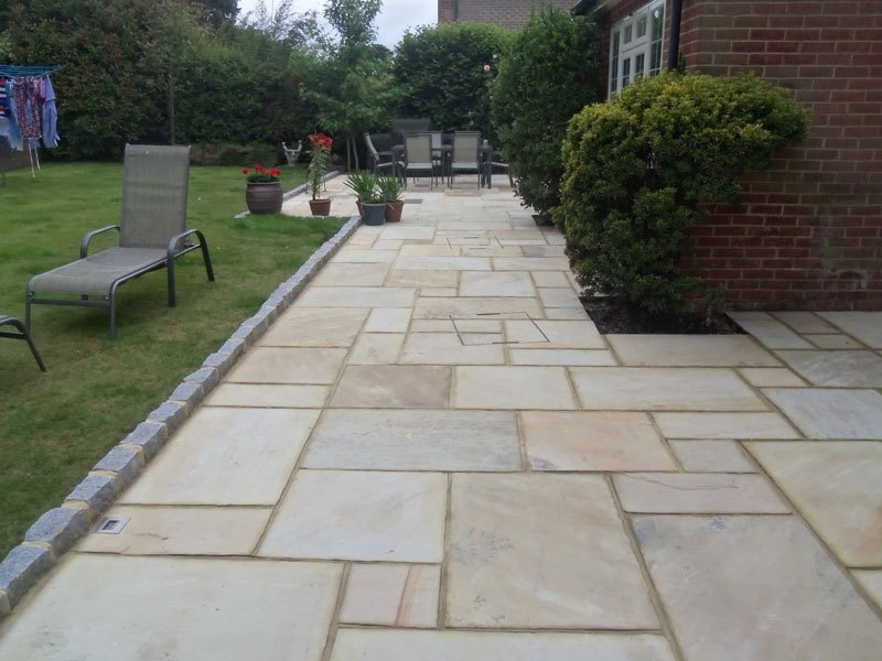 New patio Lightwater, Surrey