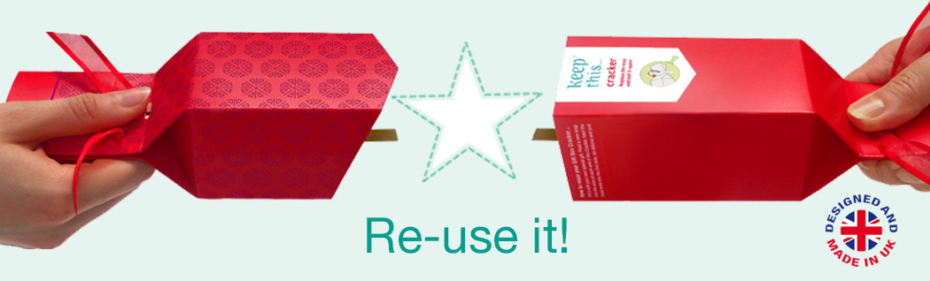 Re-usable Party Cracker - Re-use it