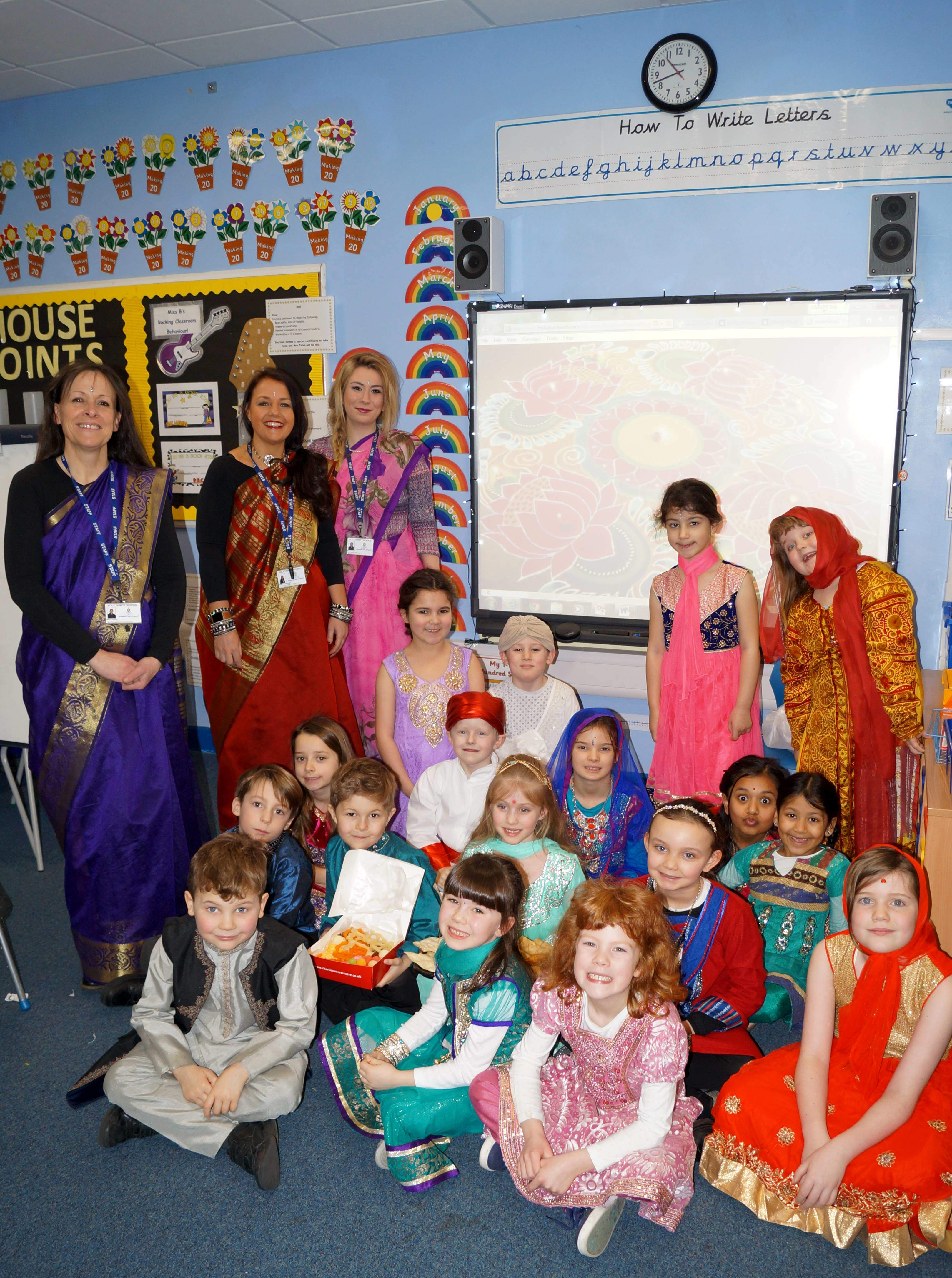 Holy Trinity School Pupils Enjoy Day Trip to India