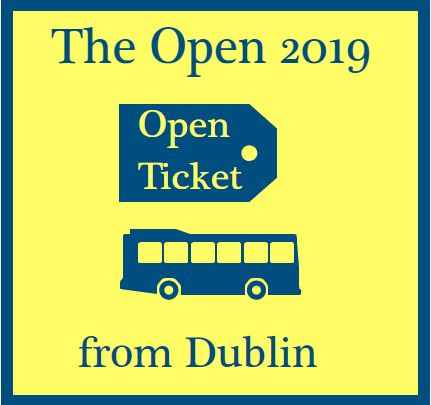 Round 1 of The Open - Thursday July 18th 2019 - Coach Transfer & Admission