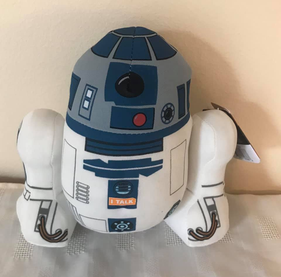 "R2 D2 Talking 4"" Plush with orginal movie sound box"
