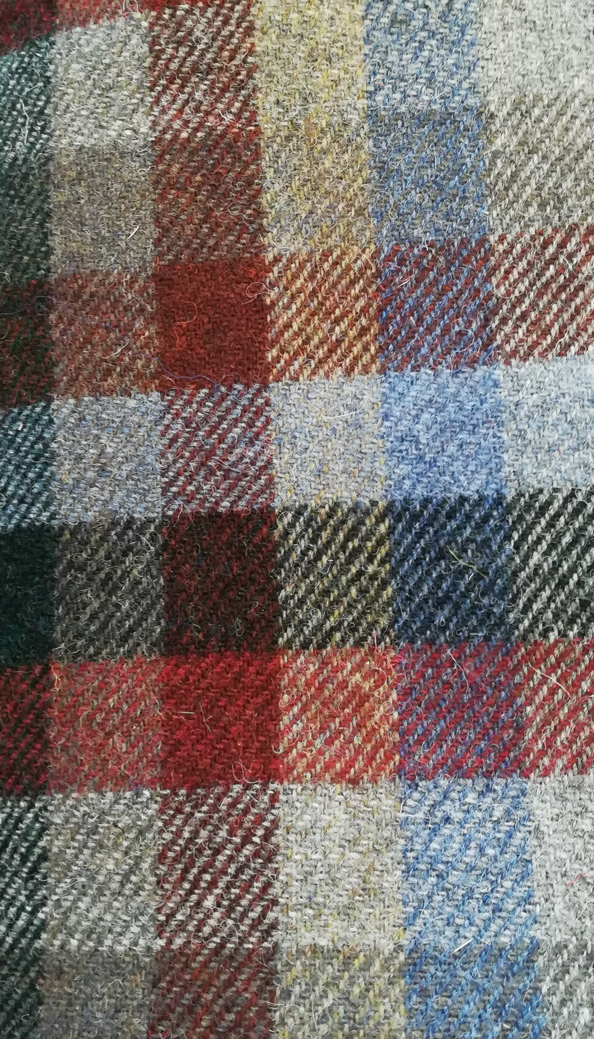 "New Twill Donegal Tweed by Fabric Affair:""Donegal Sea Shore""."
