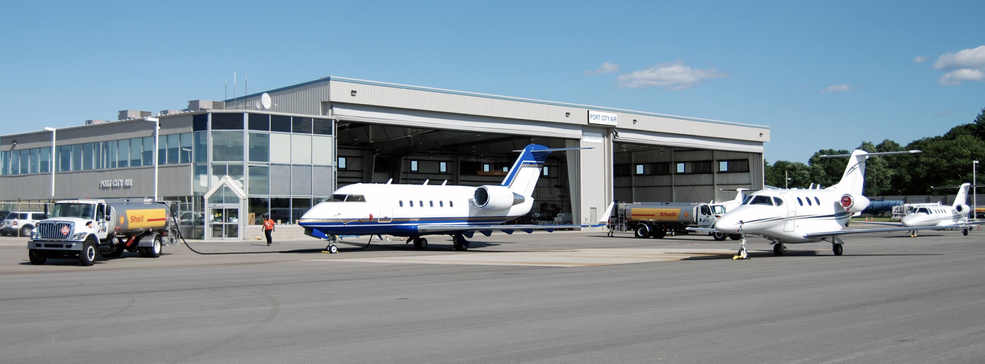 Port City Air - Boston Logan alternative for BizAv