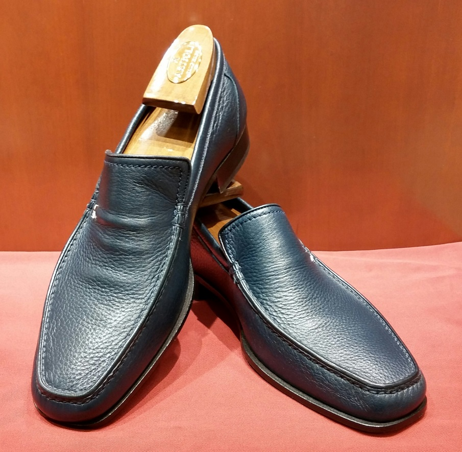 Loafer Model 563 Navy Deer