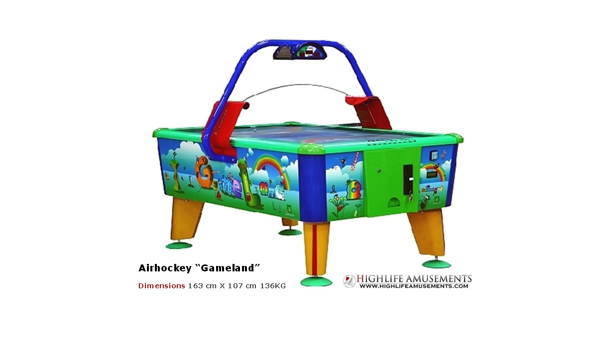 "Airhockey kids ""Gameland"""