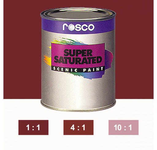 Rosco Supersaturated Paint Iron Red 5980 1 Litre
