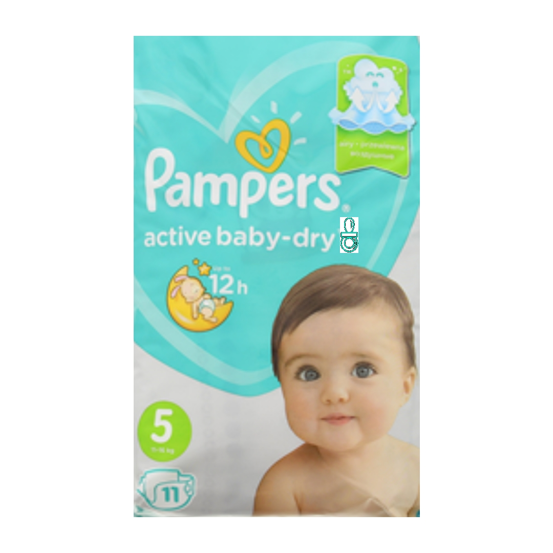 Pampers baby dry maat 5