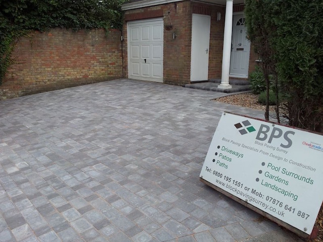 Block Paving Surrey Weybridge