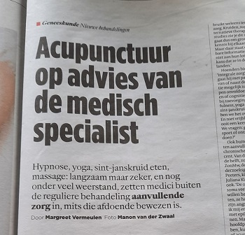 Acupunctuur op advies van medisch specialisten Yvonne Huinink Acupunctuur Doetinchemjpg