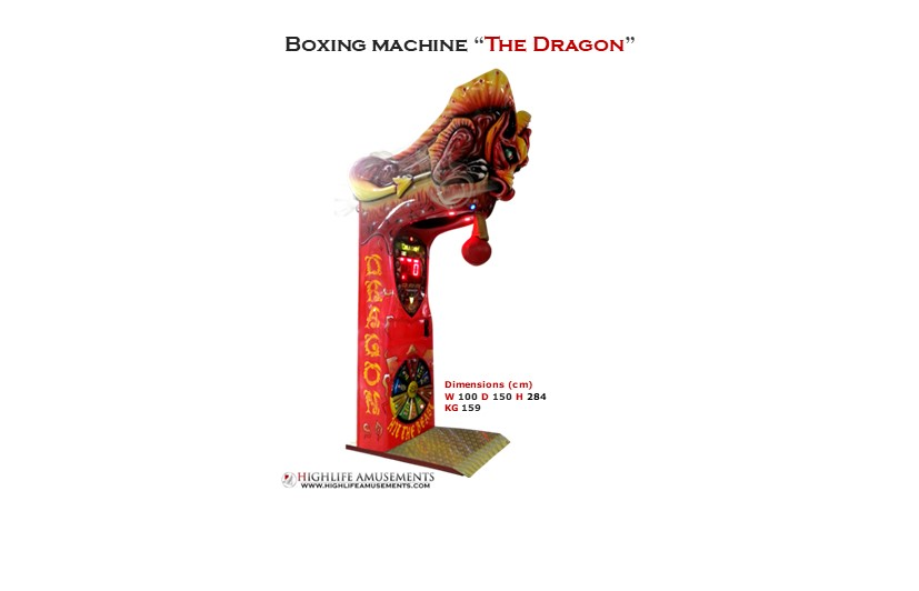 "Rental boxing machine ""The Dragon"""