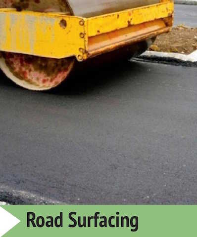 Private and public roads surfacing contractors Stafford