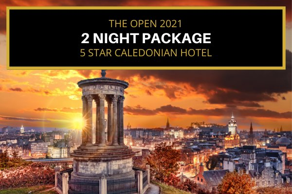 St. Andrews 2021 Open - Edinburgh based - Saturday & Sunday