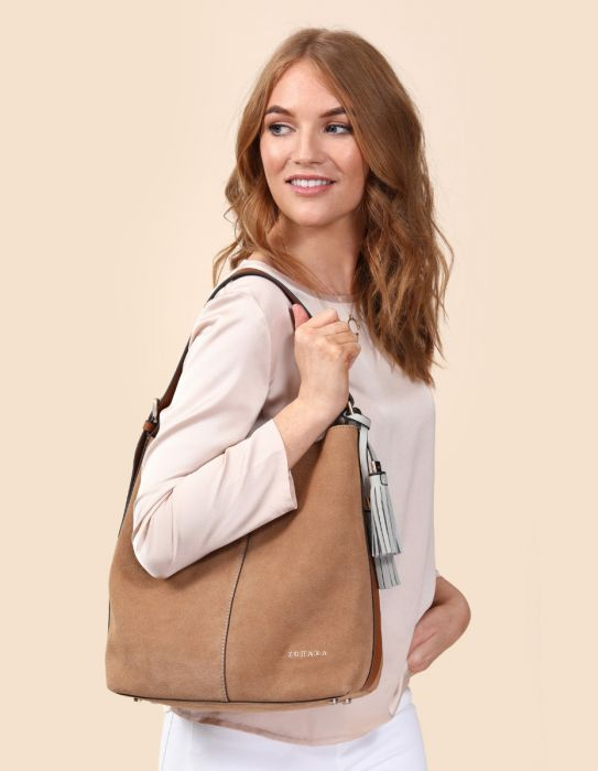 Zohara Balloo Shopper Tan