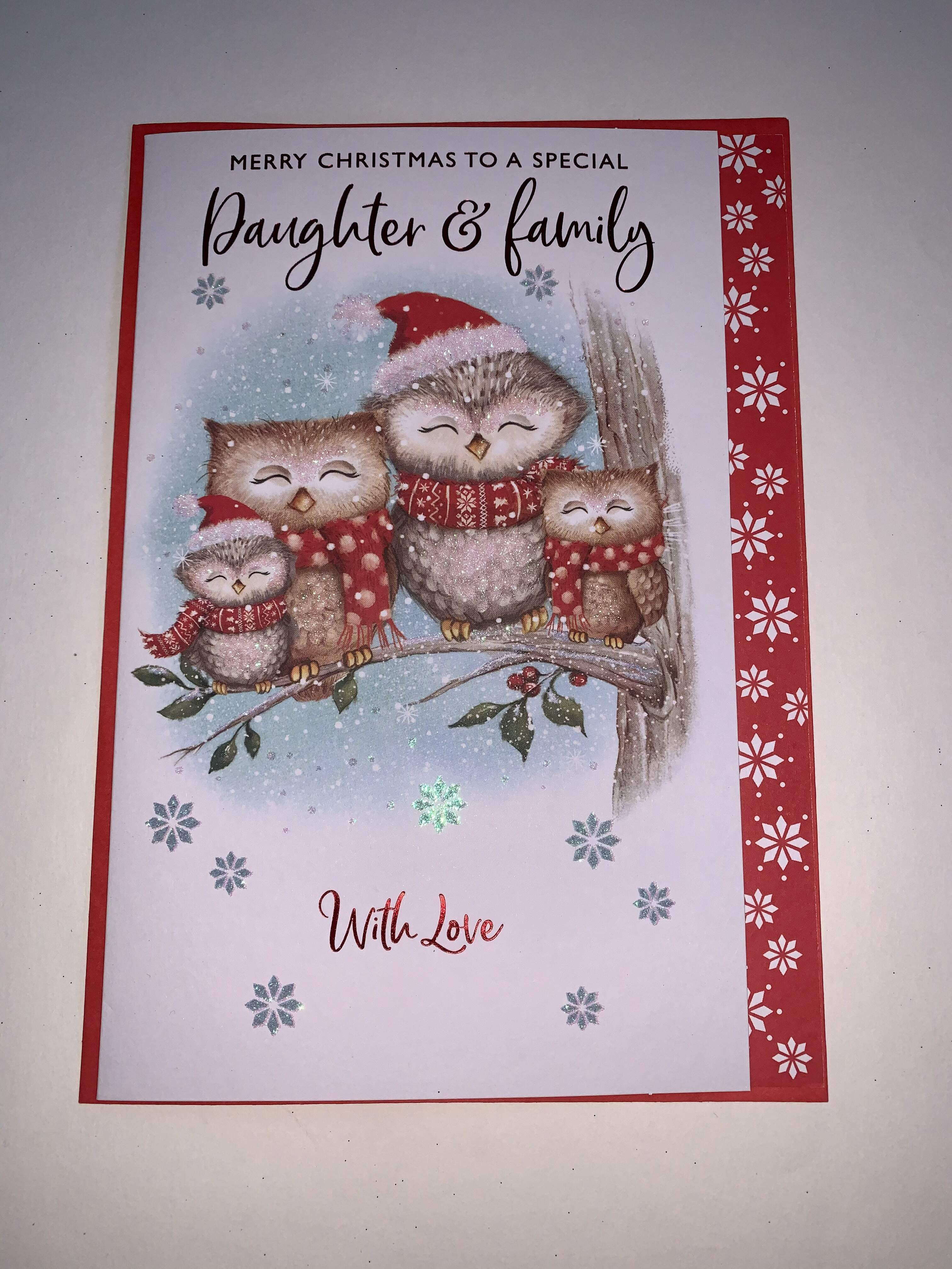 Nigel Quiney Daughter and Family Christmas Card