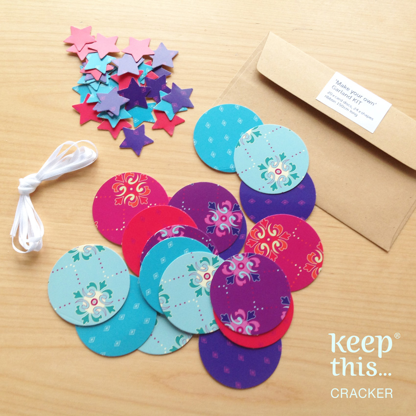 Make your own - Garland KIT - mixed colours