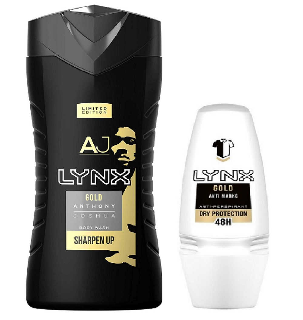 Gift set for Him, with 'Lynx Gold'