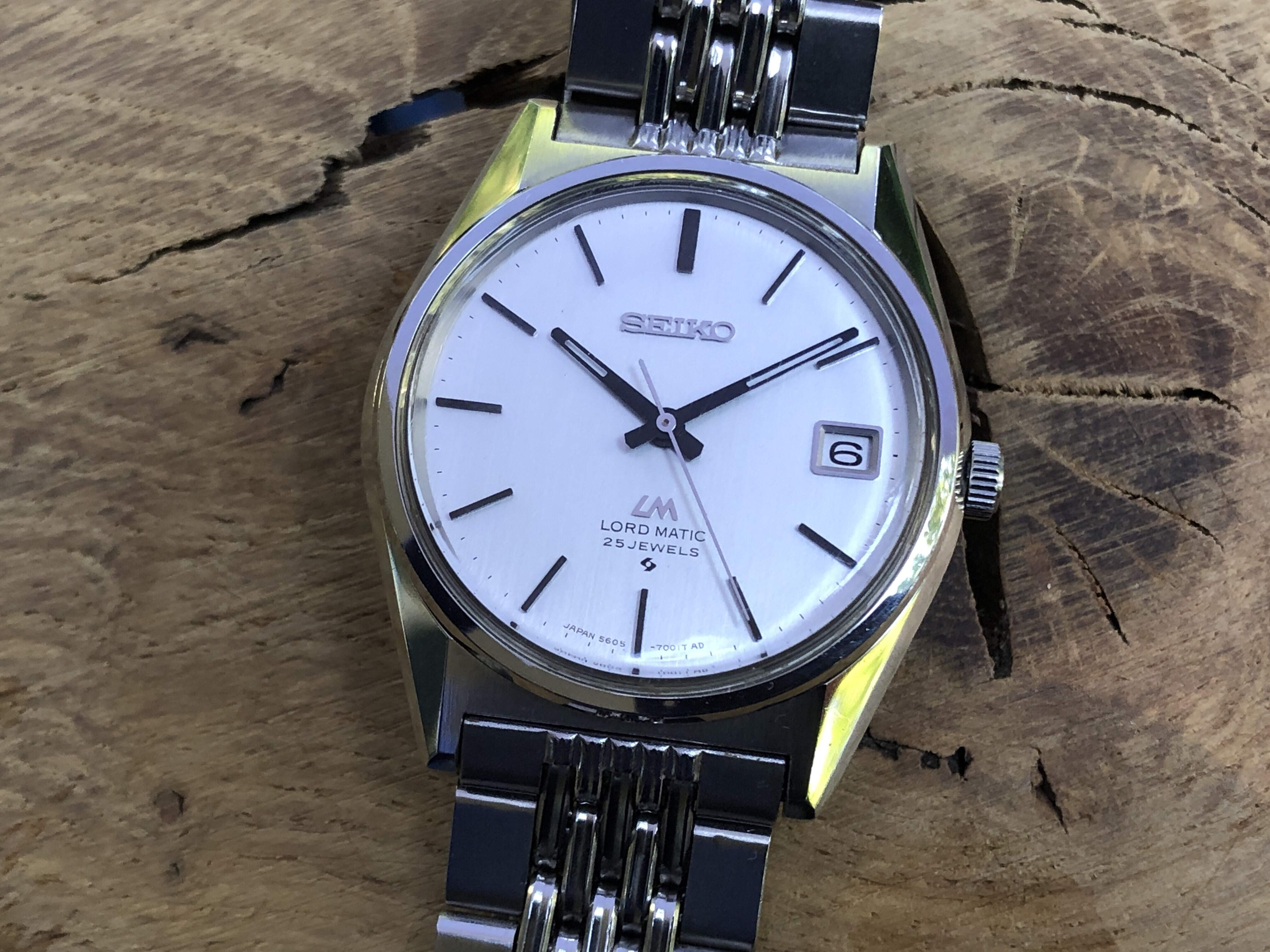 Seiko Lord-Matic 5605-7020 (Sold)