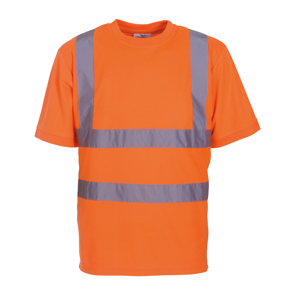Hi Vis Orange Short Sleeve T-Shirt