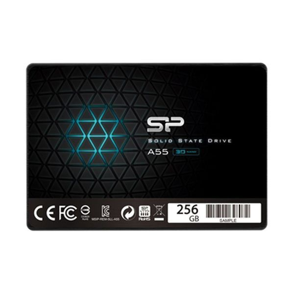 "Silicon Power Sp256Gbss3A55S25 256Gb Ssd 2.5"" Sata III"