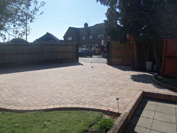 New block paved drive by Block Paving Surrey Egham