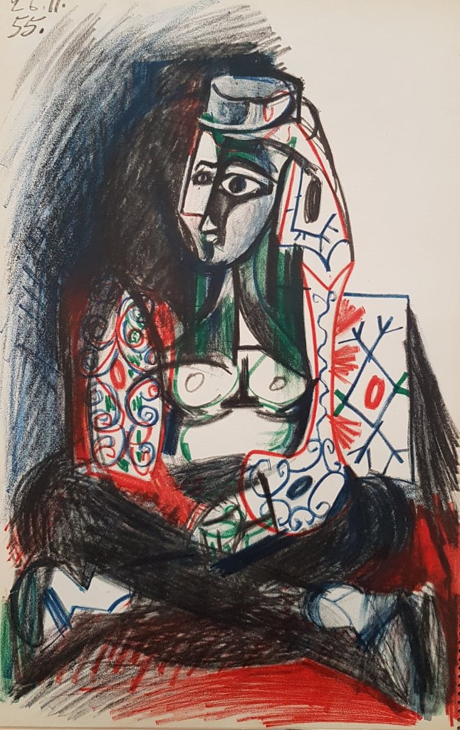 Jacqueline in Turkish Costume - Pablo Picasso