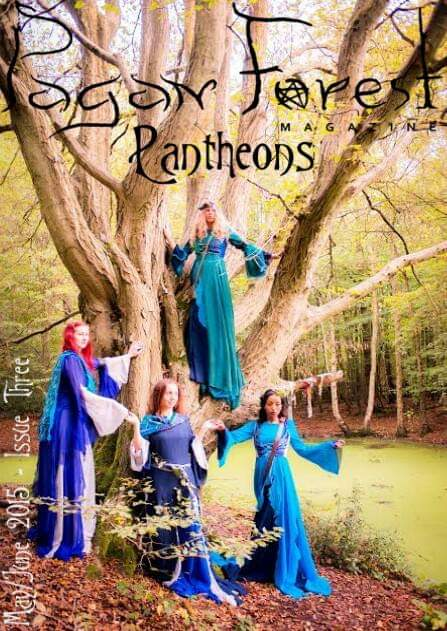 pagan forest magazine front cover