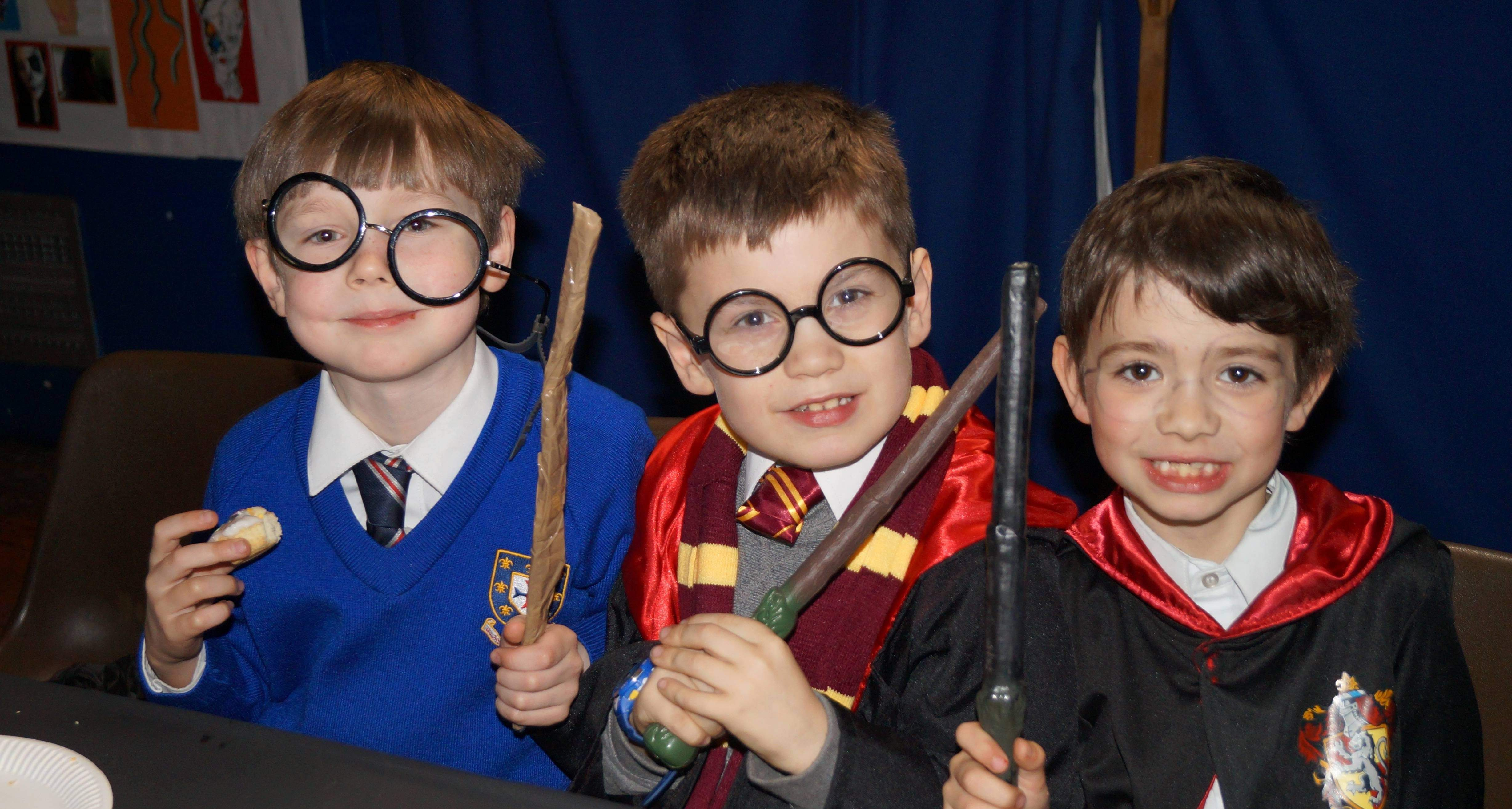 'Hogwarts' Literary Feast Celebrates World Book Day