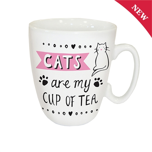 Cats are my cup of tea (260 ml)