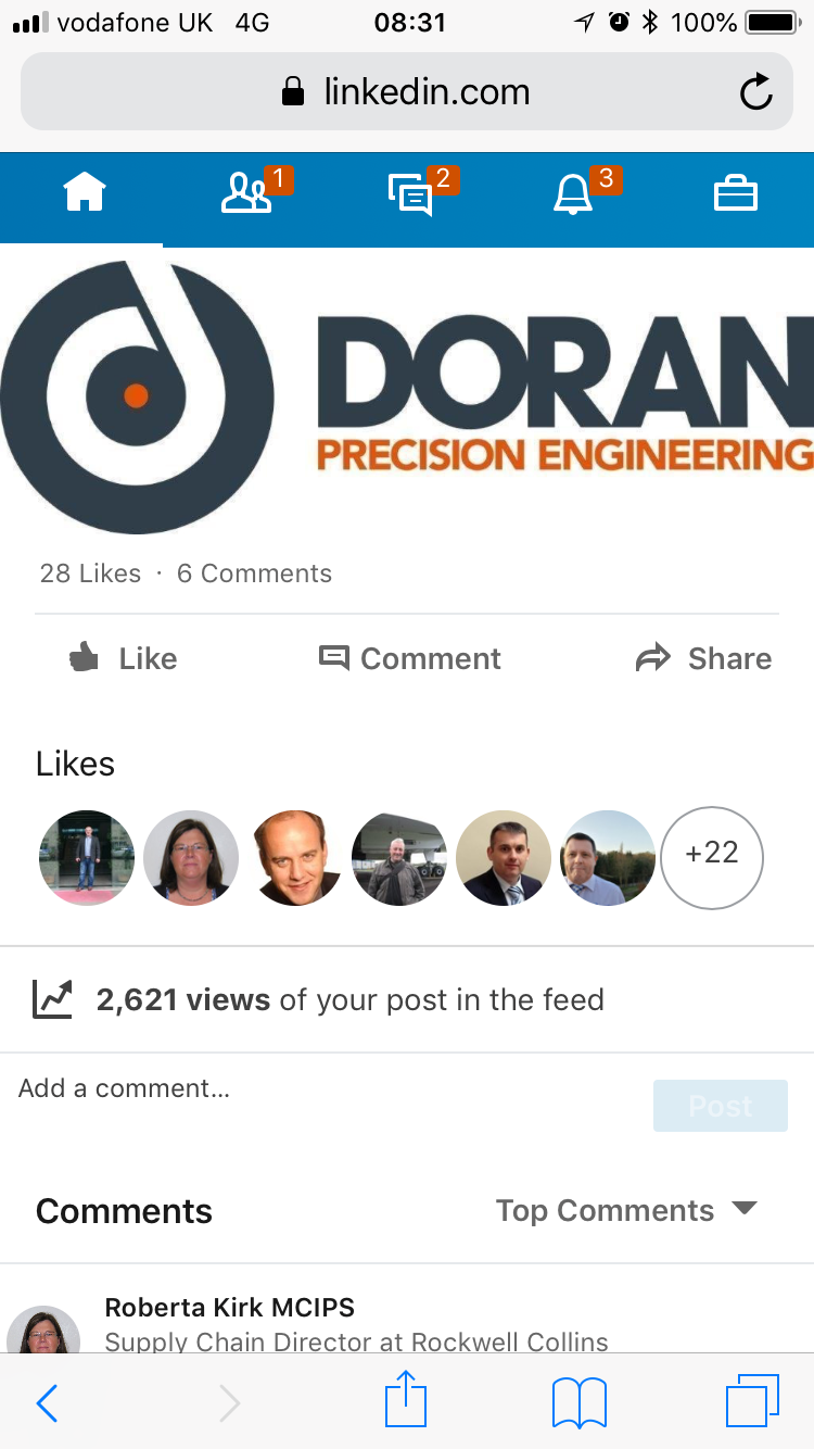 Doran Achieve AS9100 Rev D - Now with 2600+ posts...!
