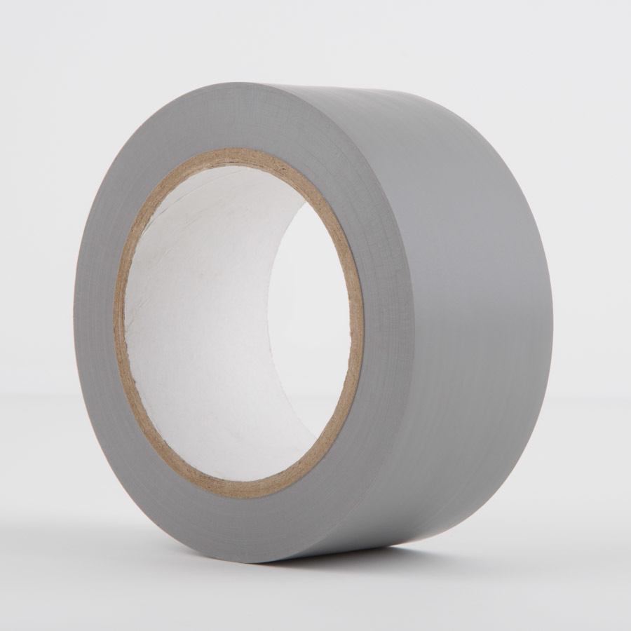 LeMark PVC Dance Floor Tape Matt Grey (50mm by 33 meter)