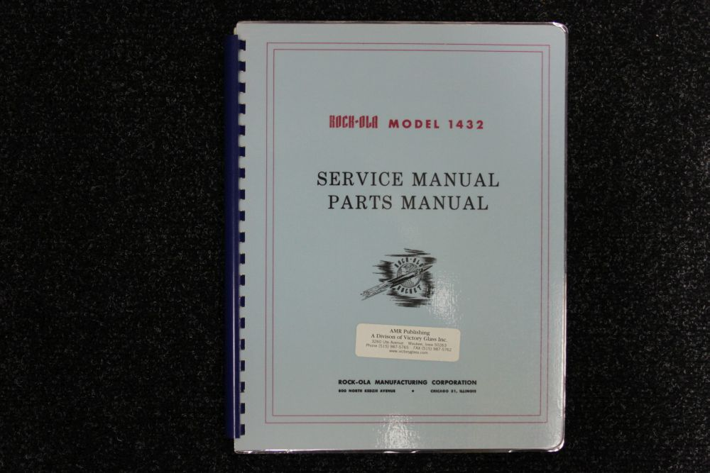 Rock-ola - Service and Parts Manual - Model 1432