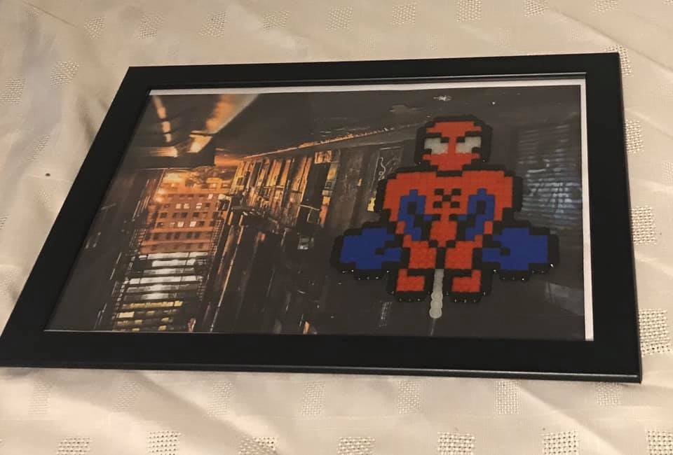 Spiderman A4 Frame