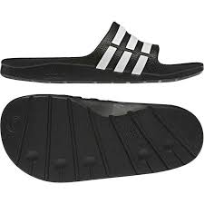 Adidas Duramo Slider Black-White
