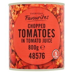 Chopped tomatoes 800gr