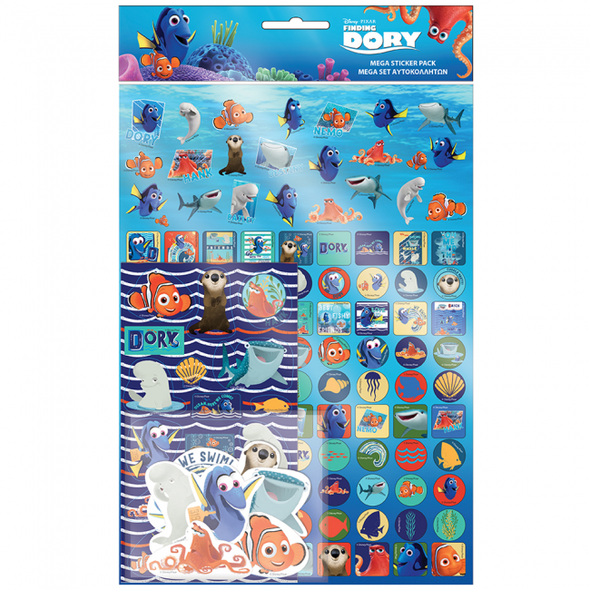 Disney Pixar Finding Dory Mega Sticker Pack