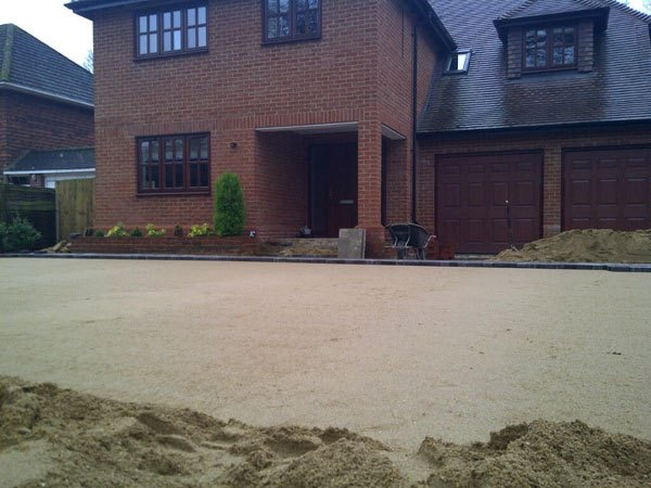 Driveway replacement in West Byfleet