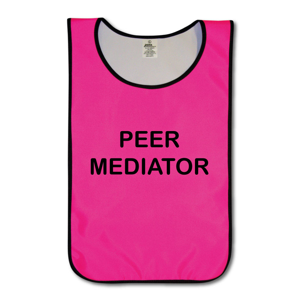 Children's Peer Mediators Nylon Tabards - Various Colours