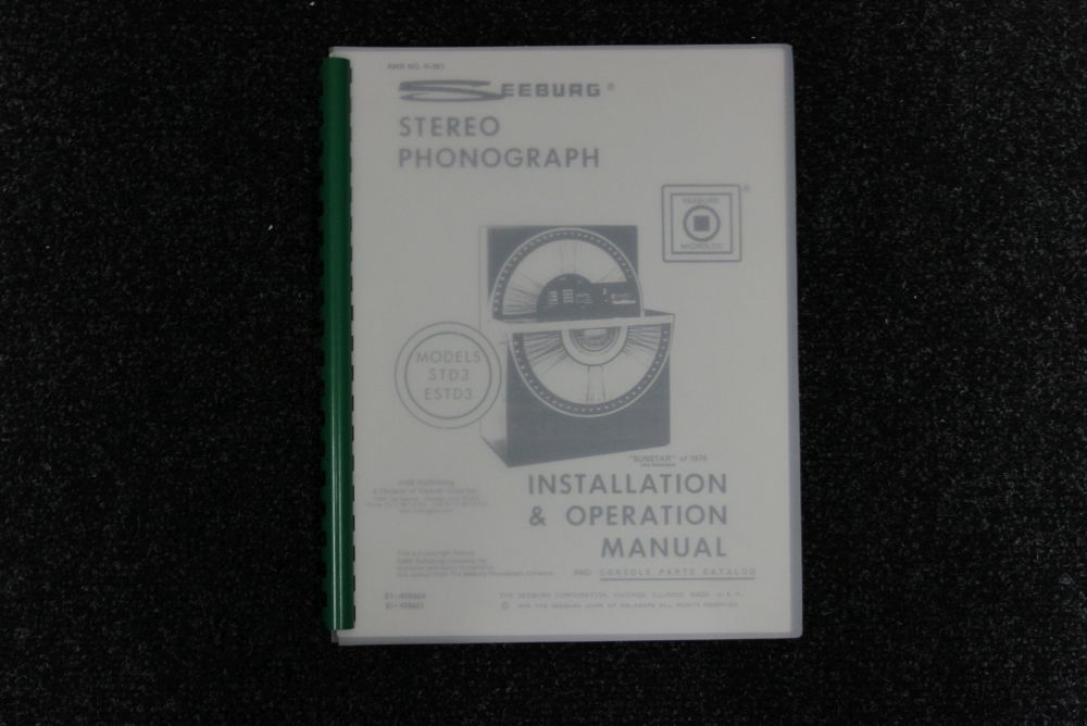 Seeburg - Installation and Operation Manual