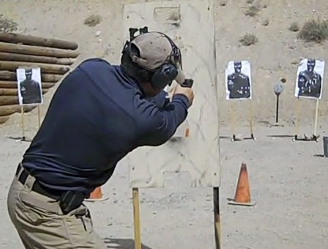 Tactical training and shooting course