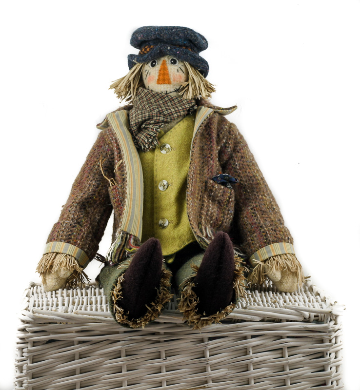 Donegal Tweed by Fabric Affair: Paddy the Scarecrow kit