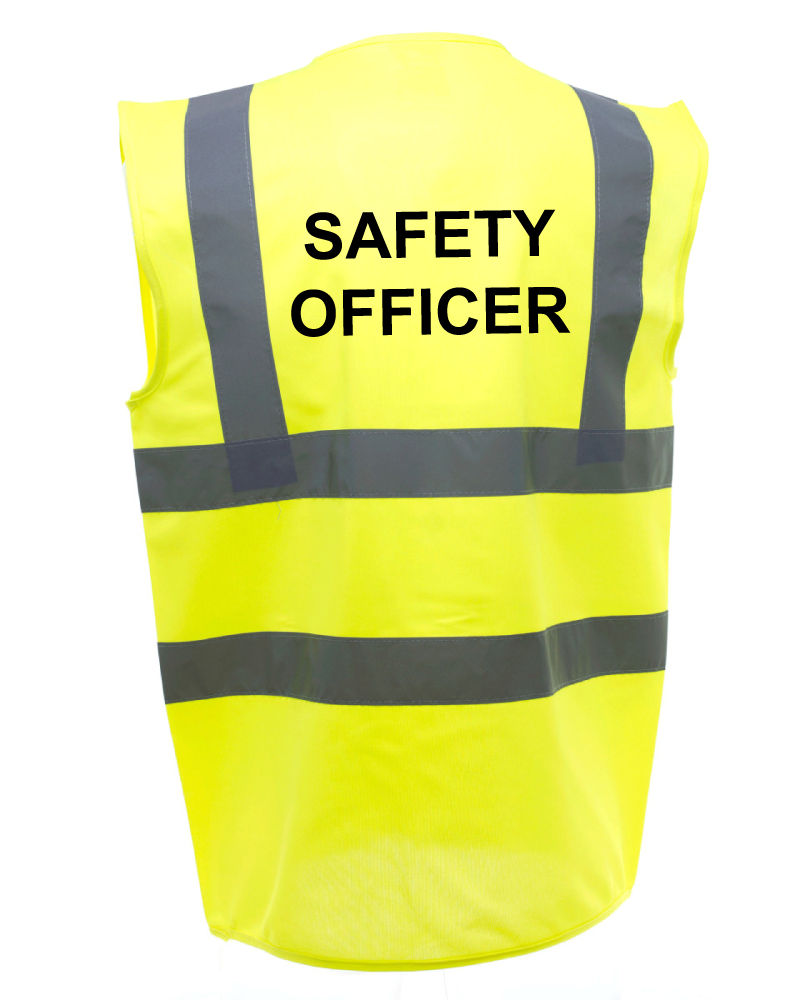 Safety Officer Safety Vests
