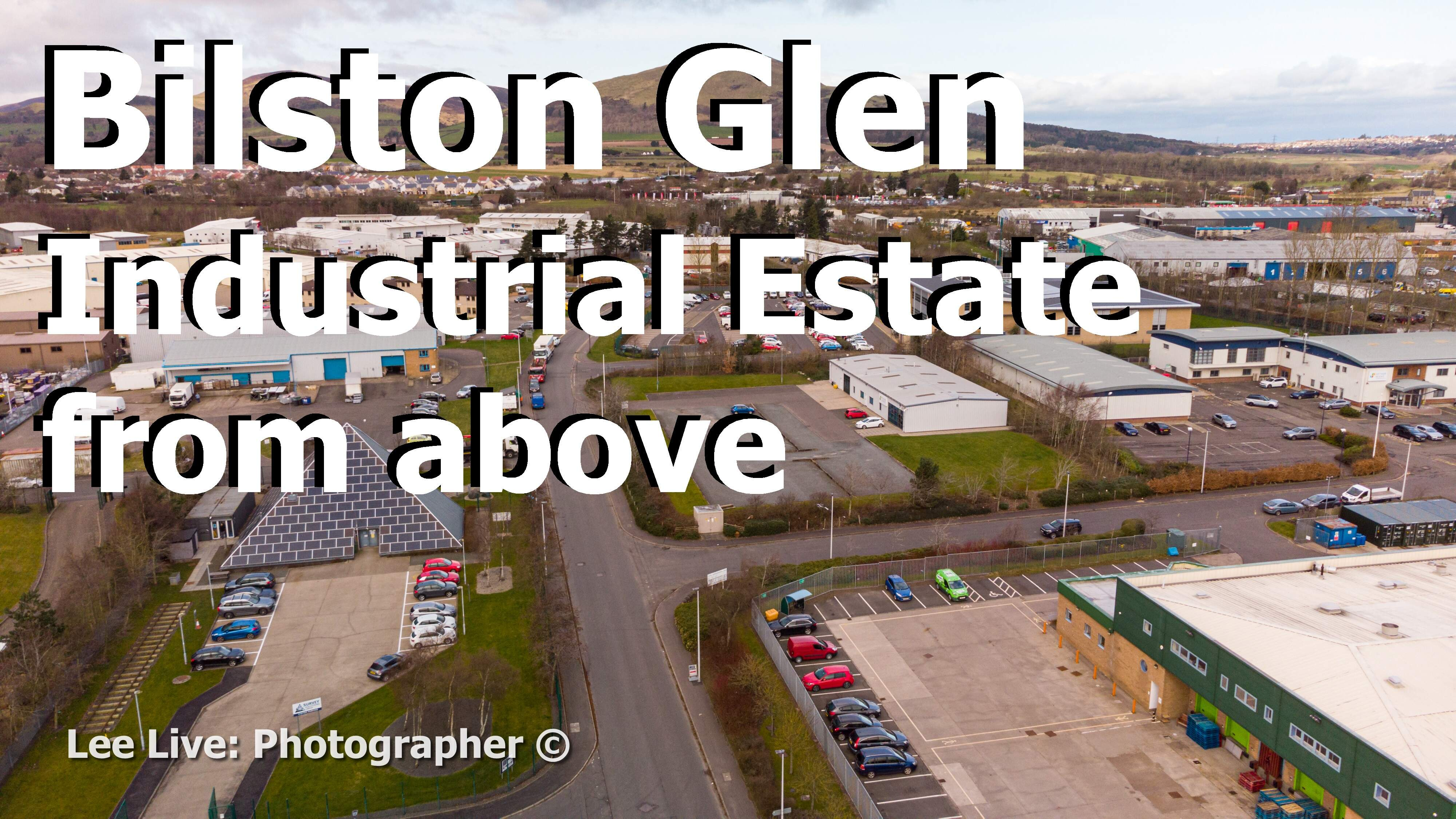 Aerial Drone Videography: Bilston Glen Industrial Estate