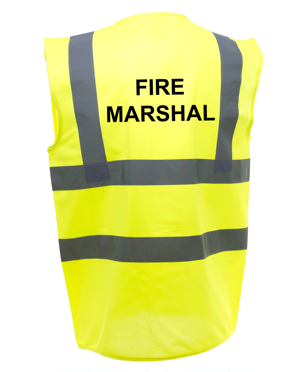 Fire Marshal Safety Vests