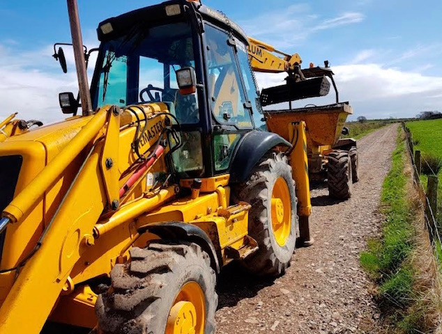 Groundworks contractors Stranraer, McHallum Builders, offer a full range of farm building services.