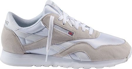 Reebok CL Nylon White-Light Grey