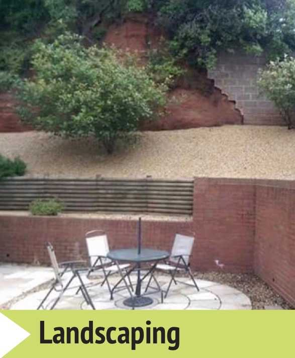 Landscaping specialists Stafford