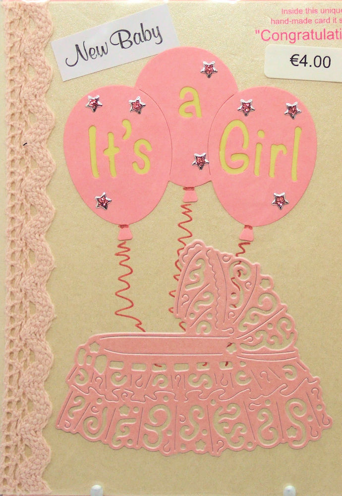 Handmade 'New Baby' Card - 17